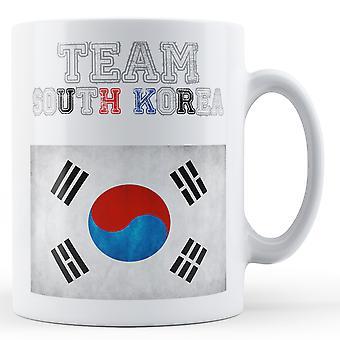 Team South Korea - Printed Mug