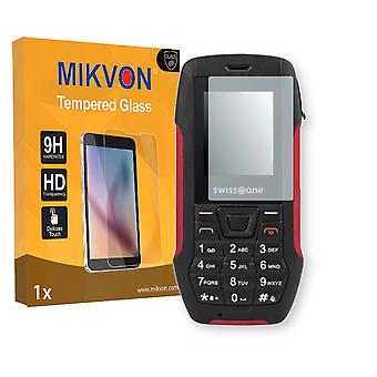 Swisstone SX 567 Screen Protector - Mikvon flexible Tempered Glass 9H (Retail Package with accessories)