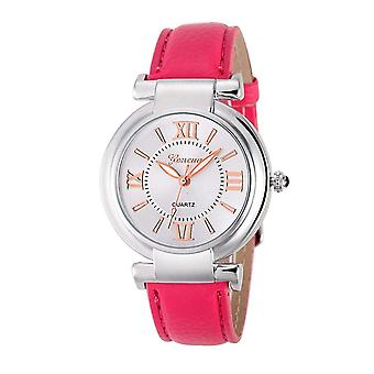 Ladies Girls Analogue Smart Rose Gold Silver Watch Watches Kids Pink Strap