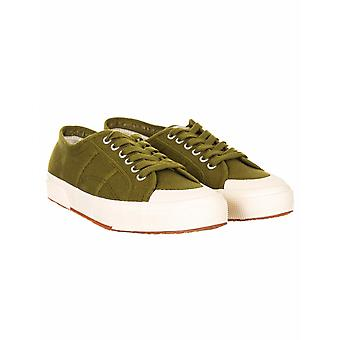 Superga 2390 Cotu Classic Trainers - Military Green