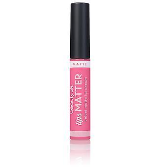 Beauty UK Lips Matter-No.6 Nudge Nudge Pink Pink 8 g