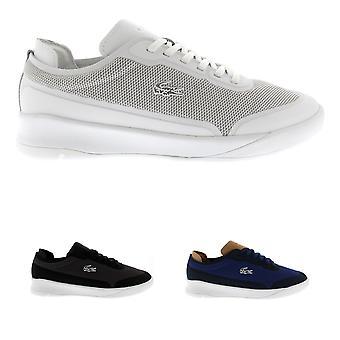 Mens Lacoste Spirit Elite 117 Low Top Sports Casual Lace Up Trainers