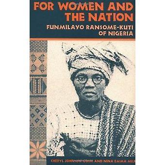 女性と Funmilayo ・ ランサム ・ クティ シェリルでナイジェリアの国民のため