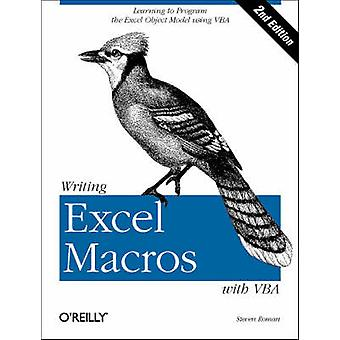 Writing Excel Macros with VBA (2nd Revised edition) by Steven Roman -