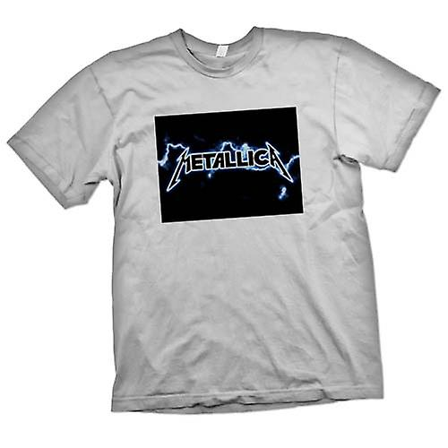 Hommes T-shirt - Metallica Logo - Rock Metal