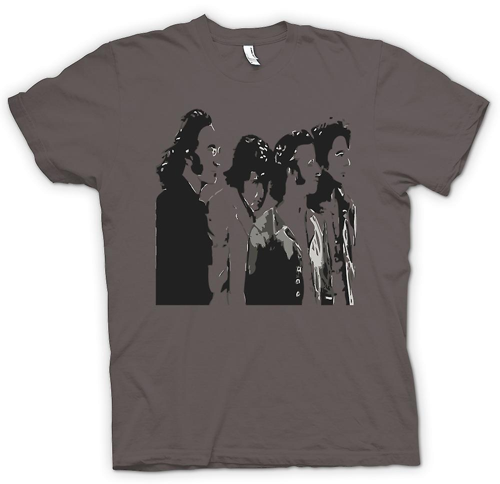 Camiseta mujer - The Beatles - banda - Pop Art