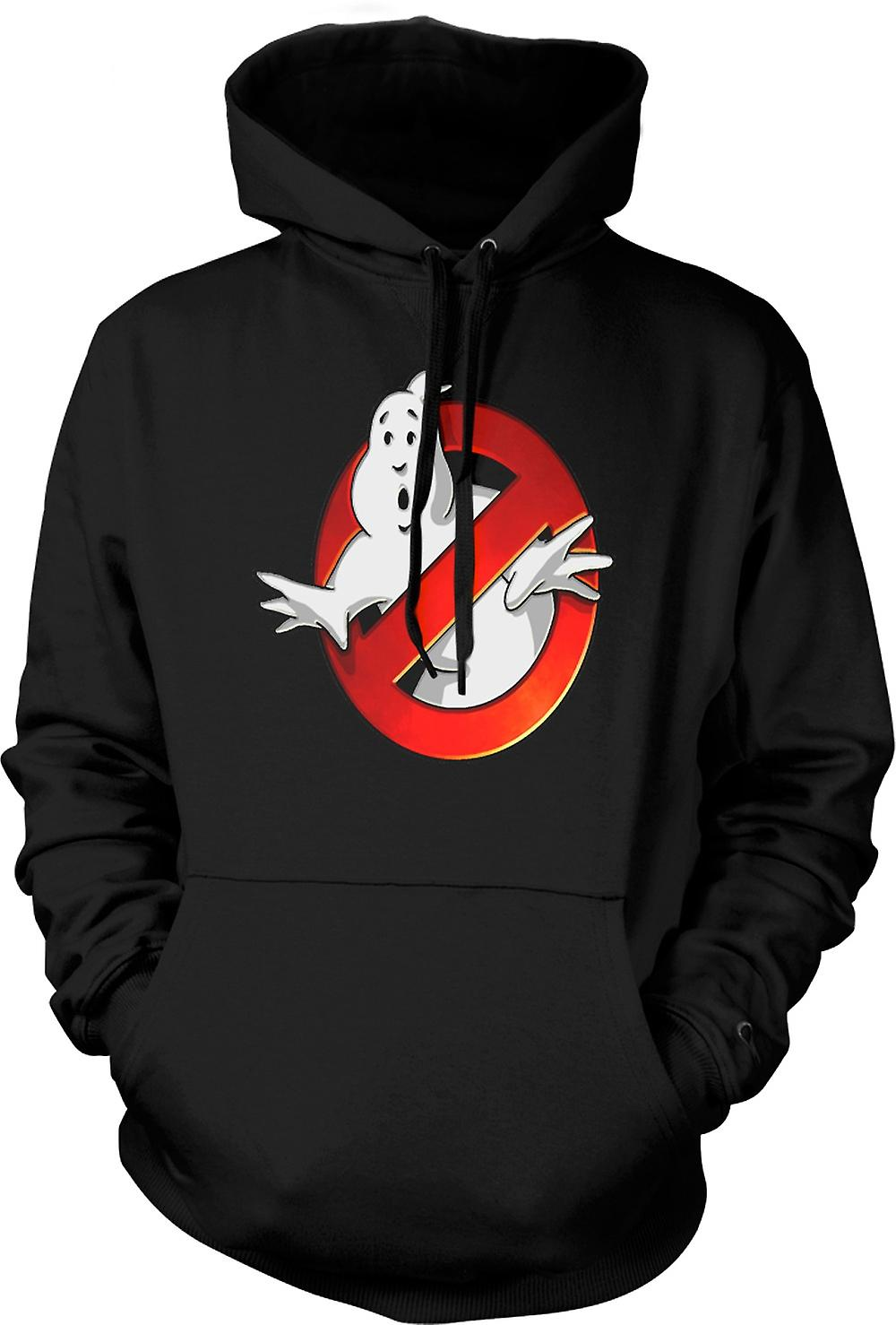 Mens Hoodie - Ghostbusters - Logo conici