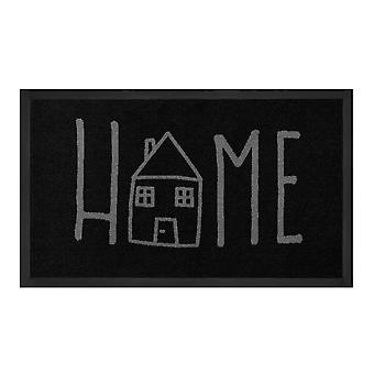 Dirt trapping pad Easyhome anthracite grey 45 x 75 cm