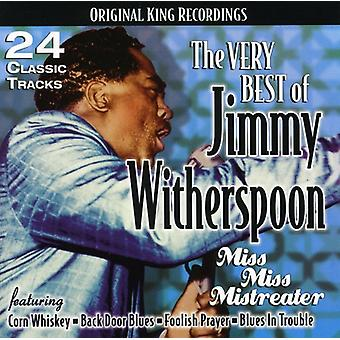 Jimmy Witherspoon - zeer beste van Jimmy Witherspoon-Miss Miss Mistreate [CD] USA import