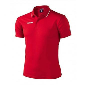 Macron Draco Polo Shirt (red)