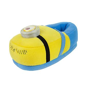 Minions Despicable Me Kid's 3D Slippers Yellow