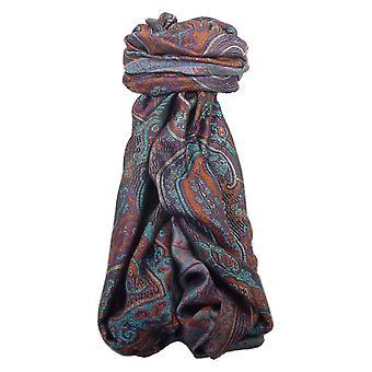 Estola de seda Jamawar Premium patrón 4782 por Pashmina y seda