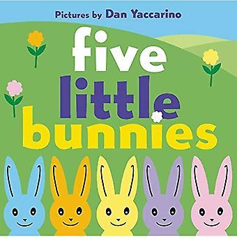 Vijf kleine konijntjes