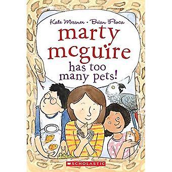 Marty McGuire a trop d'animaux de compagnie!