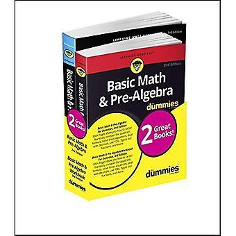 Matematica di base & pre-Algebra Workbook For Dummies con base matematica & pre-Algebra per Dummies Bundle