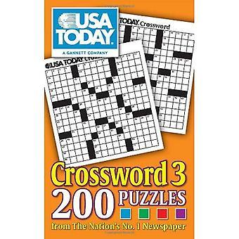 EUA hoje 3:200 palavras cruzadas de jornal de n. º 1 do país (E.U.A. hoje palavras cruzadas)
