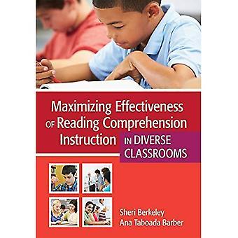 Maximaliseren van de effectiviteit van het lezen van begrip instructie in Diverse klaslokalen