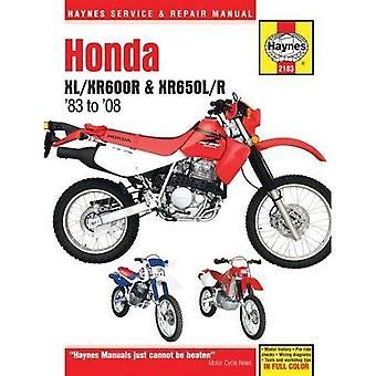 Honda XL/XR600R & XR650L/R Motorcycle Repair Manual: 83-14 (Haynes Service & Repair Manual)