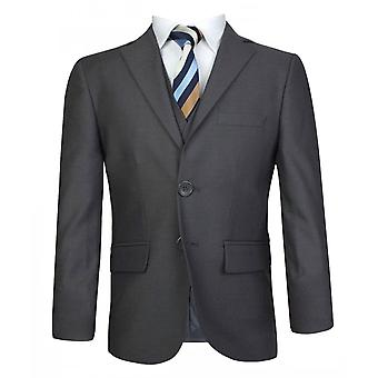 Boys Charcoal Grey Suit Italian Cut Pageboy Wedding Prom Boys Suits