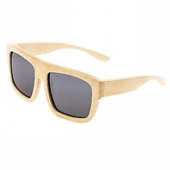 Earth Wood Hermosa Polarized Sunglasses - Khaki/Black