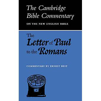 The Letter of Paul to the Romans by Best & E.