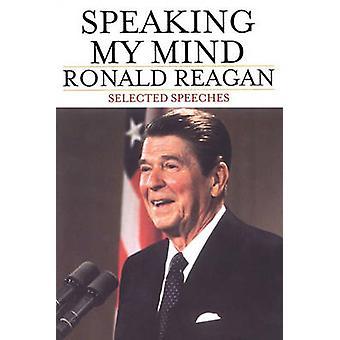 Toespraken van Reagan & Ronald spreken mijn geest geselecteerd