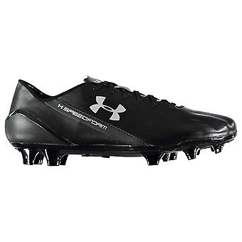 Under Armour Mens SpeedForm Leather FG Football Boots Firm Ground Lace Up Padded