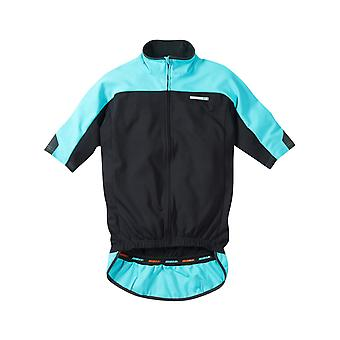 Madison Black-Blue Curaco 2015 Roadrace Optimus Thermal Short Sleeved Cycling Je