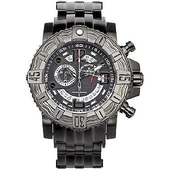 Zeno-Watch Herrenuhr Neptun 2 Chronograph black 4538-5030Q-bk-i1M
