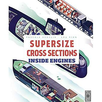 Supersize Cross Sections: Inside Engines