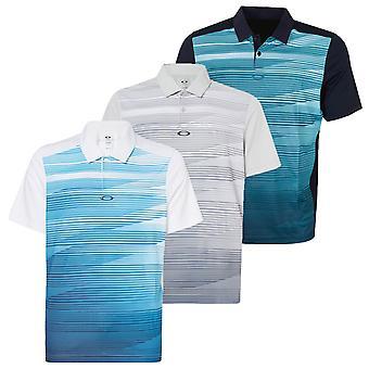 Oakley Mens 2019 Ace SS Golf Polo Shirt