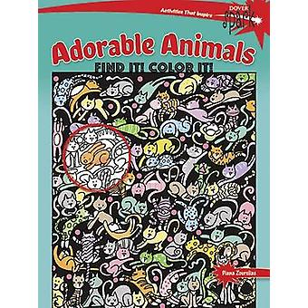 Spark Adorable Animals Find It! Color It! by Diana Zourelias - 978048