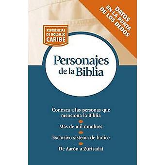 Personajes de La Biblia - Serie Referencias de Bolsillo by Thomas Nels