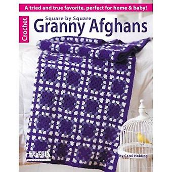 Square by Square Granny Afghans - A Tried and True Favorite - Perfect