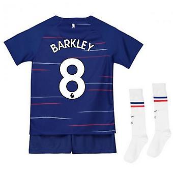 2018-2019 Chelsea Home Nike Baby Kit (Barkley 8)