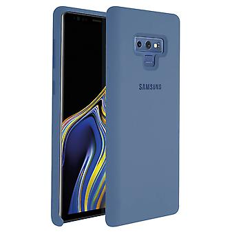 Samsung Galaxy Note 9 Case Original Samsung Silicone Soft Touch Cover Blue