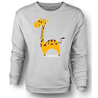 Mens Sweatshirt I Love Giraffes - Cute Animal