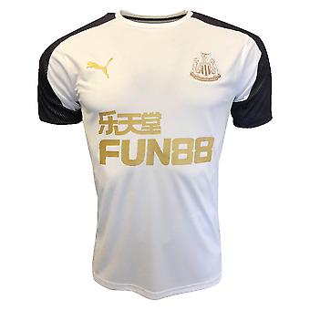 2019-2020 Newcastle Puma trenings skjorte (hvit)