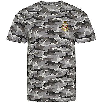 Royal Wessex Yeomanry - Licensed British Army Embroidered Camouflage Print T-Shirt