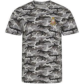 Königliche Wessex Yeomanry - lizenzierte britische Armee bestickt Camouflage Print T-Shirt