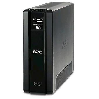 Apc back-ups pro 1200 ups 1,200 va 720w output ac type f cable 1.83 m charge 8h black italy (br1200g-gr)
