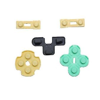Conductive rubber pad button contacts gasket kit for sony ps2 controllers