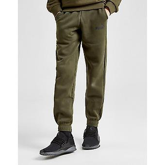 New Puma Boys' Core Logo Track Pants Green