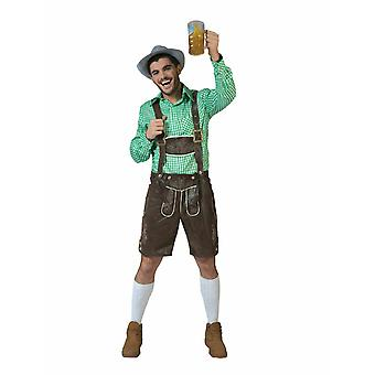 Oktoberfest Bayern Pantaloni Bernd Uomo Costume Costumi Costume Costume Costume Uomo Costume