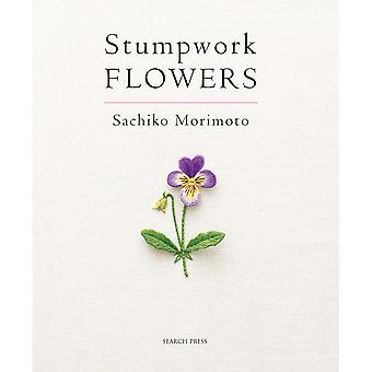 Search Press Books Stumpwork Flowers Sp 89459