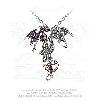 Alchemy Gothic The Chemical Wedding Pendant