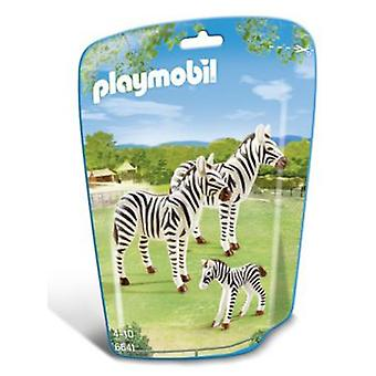 Playmobil 6641 Family of Zebras
