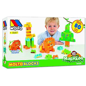 Molto Blocks Box 80 Pieces