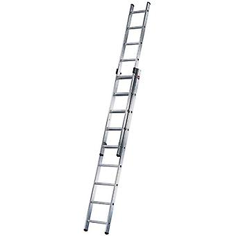 Hailo Stretches Aluminum ladder slide 2 Duo (2X18 Treads) (DIY , Construction , Stairs)