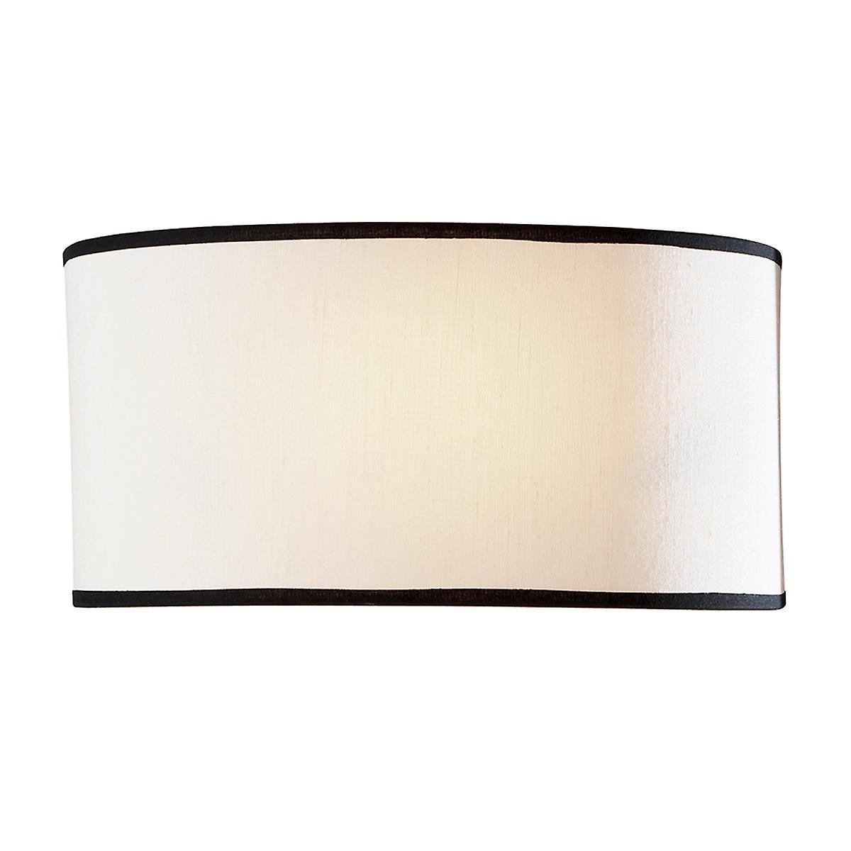 David Hunt ASC0733 Ascott Single Wall Light With A Cream S018 Shade